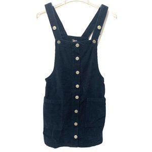 BDG Urban Outfitters Corduroy Overall Dress Velvet